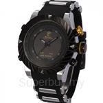 SHARK Sport Watch Men Relogio Silicone Strap Fashion Casual LED Digital Male Black Military Quartz Wristwatch - SH168
