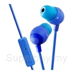 JVC Inner Ear Headphones with Remote & Microphone - HA-FR37
