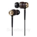 JVC Premium Inner-Ear Headphone Wood Series - HA-FX750
