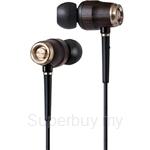 JVC Premium Inner-Ear Headphone Wood Series - HA-FX650