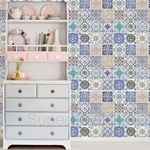 Walplus Mural Mosaic Tile Wall Sticker 60cm x 90cm x 4pcs - WM10004