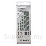 Bosch MP 5pcs Multi-Purpose Drill Bit Set (4,5,6,8 & 10 mm) - 2608680798