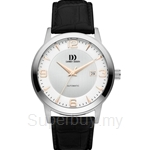 Danish Design Automatic Silver-Tone Dial Analog Watch - IQ17Q1083