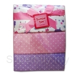 Bumble Bee 100% Cotton 3-Receiving Blankets Purple Sheep - BLK0041
