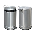 MHT Hygienic Stainless Steel Pedal Bin (12L)