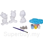 Dlittle Mickey Mouse Characters 3D Figurine Art Set