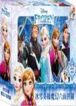 冰雪奇緣 魔幻六面拼圖(12塊)
