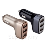 Momax UC5 4.4A - 3 Port USB Car Charger