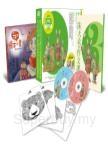 朱天衣的作文課3:用引導的方式,讓孩子發揮寫作的本能!(2片CD+《朱天衣的作文課3》一本+《我的繪本小書》一冊+《色彩想像力練習著色卡