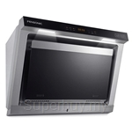Pensonic Stainless Steel and Black Glass Cooker Hood - PCH-805AS