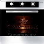 Pensonic 56L Console Oven Stainless Steel - PBO-5601M