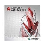 AutoDesk AutoCAD 2017 Commercial New Single-user ELD Annual Subscription with Basic Support - 001I1-WW4127-T897