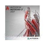 AutoDesk AutoCAD LT 2017 Commercial New Single-user ELD Annual Subscription with Advanced Support - 057I1-WW8695-T548