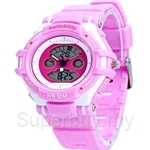 Hello Kitty Sporty Analog & Digital Watch - HKSQ-1375-01C