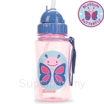 Skip Hop Butterfly Zoo Straw Bottle - SH252328