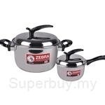 [Parent's Day Sale] Zebra IREST 18cm Sauce Pan + 22cm Sauce Pot Set - ZR160X543X00