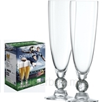 Schott Zwiesel Football Doppelpack 0.3L Soccer Beer Glass 2pcs - ZWIESEL-118122