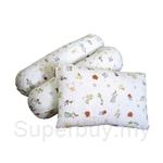 Soffy Poffy Pillow and Bolster 3pcs Set (Playful Friends) - SD101-PF