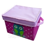 Neo Geo Kids Storage Box with Cover Owl (Small) - NG3232OW