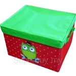 Neo Geo Kids Storage Box with Cover Owl (Medium) - NG4242OW