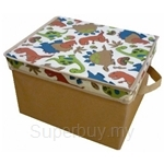 Neo Geo Kids Storage Box with Cover Dino (Medium) - NG4242DN