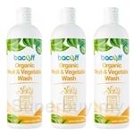 [Set of 3] Bacoff Fruit & Vegetable Wash (500ml)