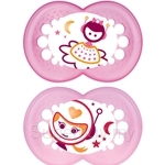 MAM Pacifier Night (16+ Months) Twin Pack - A138