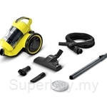 Karcher Multi Cyclone Vacuum Cleaner 0.6 Liter 1.3KW Bagless - VC-3
