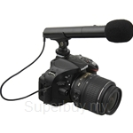 JJC Mini Directional Shotgun Microphone DSLR/Video - SGM-185