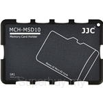 JJC Memory Card Holder Fits 10x Micro SD Cards - MCH-MSD10GR