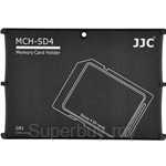 JJC Memory Card Holder Fits 4x SD Cards - MCH-SD4GR
