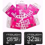 iTouch Class 10 MicroSDHC/MicroSDXC UHS-1 Memory Card
