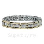Criss Titanium Bio Magnetic Bracelet For Men - TTM-8014(G)