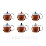 [2016 Edition] Bodum Assam Teapot 1.0L (Assorted Colours) - A1830-XYB-Y16