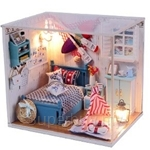 Pocohouze Brandon's Room DIY Miniature Dollhouse - M010