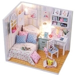Pocohouze Adabell's Room DIY Miniature Dollhouse - M013