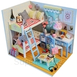 Pocohouze Roomates Memories DIY Miniature Dollhouse - D014