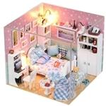 Pocohouze Joey's Room DIY Miniature Dollhouse - M003