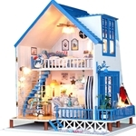 Pocohouze Falling Love in Santorini DIY Miniature Dollhouse - 13802
