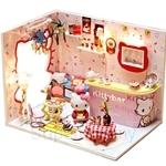 Pocohouze Kitty Room DIY Miniature Dollhouse - M005