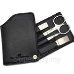 Balenciaga Stainless Steel Manicure Set in Leather Casing - JB7484