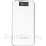 Yoobao Master 20000mAh LCD Power Bank White - YB-M20-Plus