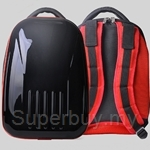 Bitbob Multi-Purpose Hard Case Backpack (Red Black) - BB1602-001