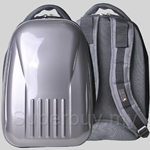 Bitbob Multi-Purpose Hard Case Backpack (Silver Black) - BB1602-002