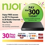 NJOI Free Satellite TV from Astro (Free Channel Previews Up To 60 Days)