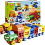 Regis Toy 68 pieces Transport Building Blocks