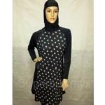 Al Ikhwah Baju Renang Muslimah - LF-Black/Rose