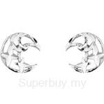 Poh Kong 9K White Gold Diana Earrings - 562676