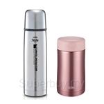 Thermos 500ml Food Jar JCU-500 + 470ml Flask FDX-500