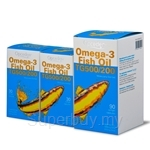 Opceden Omega-3 Fish Oil (500mg EPA / 200mg DHA) 90 softgel x 1000mg FREE 2 x 30 softgels